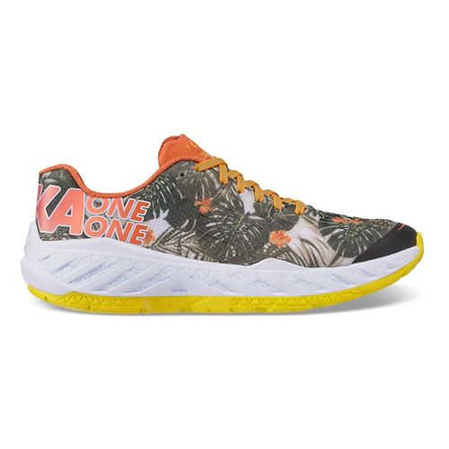 Womens Hoka One One Clayton Kona Running Shoe - Tropical 9.5