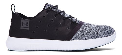 Womens Under Armour Charged 24/7 Low Casual Shoe - Black 7