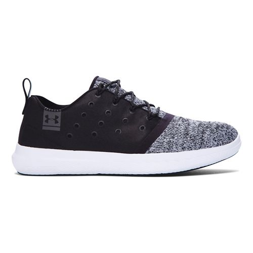 Womens Under Armour Charged 24/7 Low Casual Shoe - Black 8.5