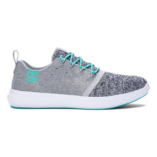 Womens Under Armour Charged 24/7 Low Casual Shoe - Overcast Grey 7.5