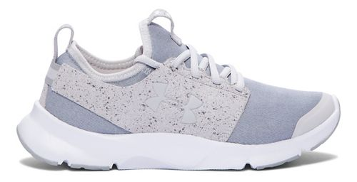 Womens Under Armour Drift RN Mineral Running Shoe - Glacier Grey/White 10
