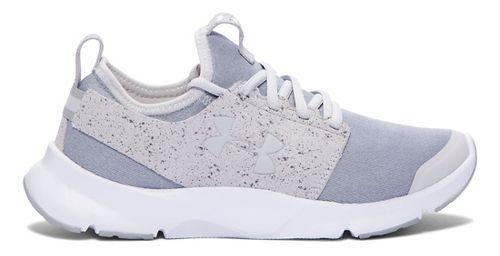 Womens Under Armour Drift RN Mineral Running Shoe - Glacier Grey/White 9