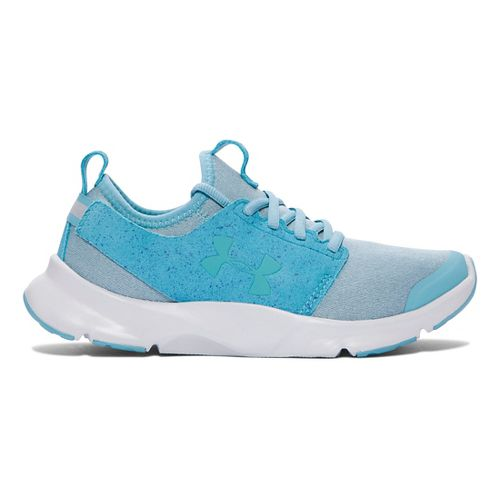 Womens Under Armour Drift RN Mineral Running Shoe - Cosmos/Glacier Grey 7.5