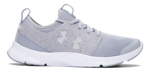 Mens Under Armour Drift RN Mineral Running Shoe - Glacier Grey/White 9