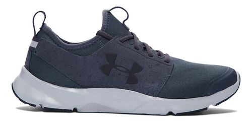 Mens Under Armour Drift RN Mineral Running Shoe - Stealth Grey/Grey 13