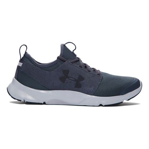 Mens Under Armour Drift RN Mineral Running Shoe - Stealth Grey/Grey 10
