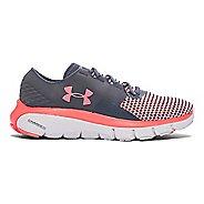 Womens Under Armour Speedform Fortis 2 Running Shoe - Stealth Grey/Pink 6.5