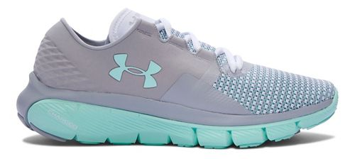 Womens Under Armour Speedform Fortis 2 Running Shoe - Grey/Crystal 7.5