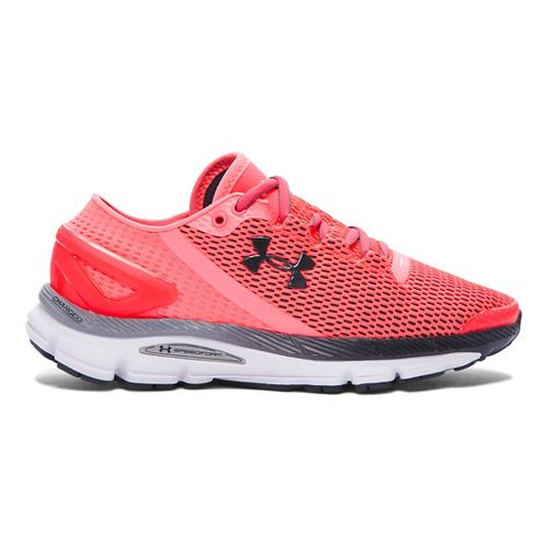 Womens Under Armour Speedform Gemini 2.1 Running Shoe - Brilliance/Grey 5