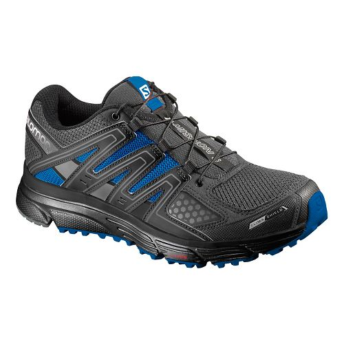 Salomon Mens X-Mission 3 CS Running Shoe - Autobahn Black/Blue 10.5