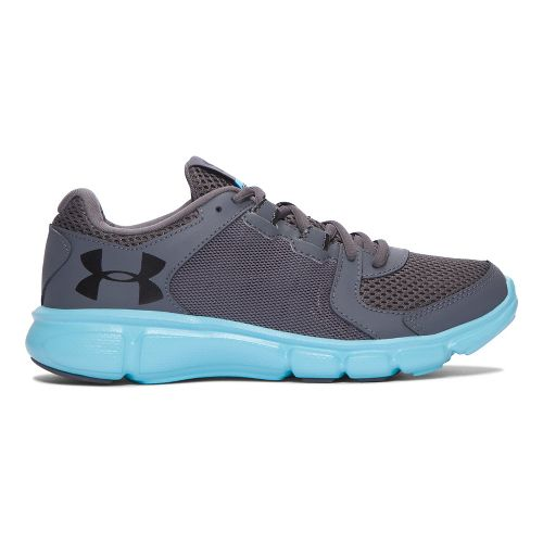 Womens Under Armour Thrill 2  Running Shoe - Blue/Black 10
