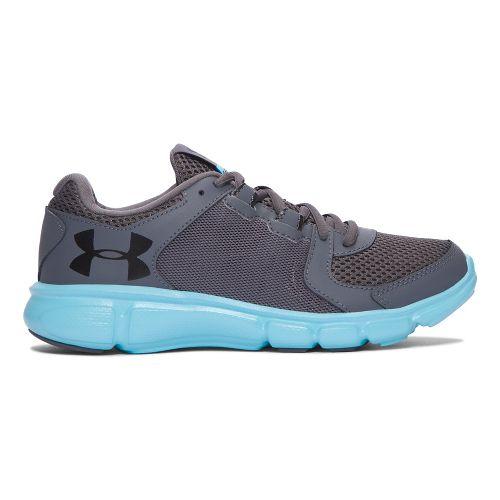 Womens Under Armour Thrill 2  Running Shoe - Blue/Black 9