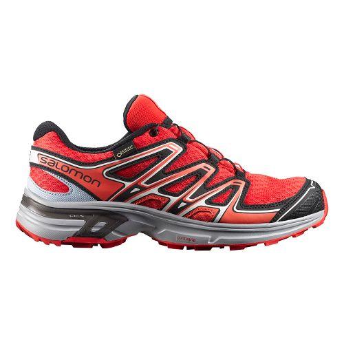 Salomon Womens Wings Flyte 2 GTX Trail Running Shoe - Black/Blue 8.5
