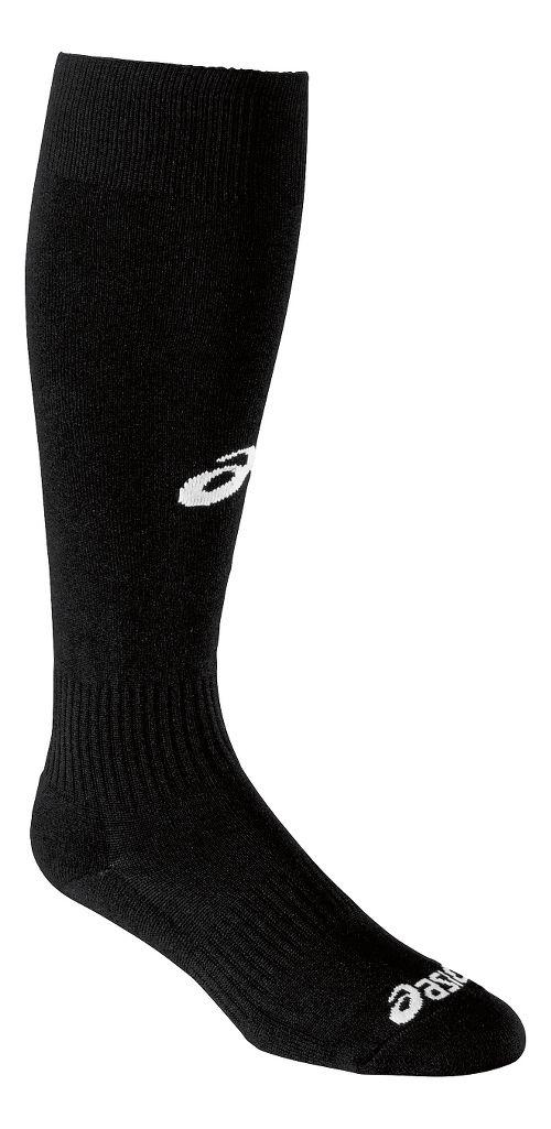 ASICS All Sport Field Knee High 3 Pack Socks - Black XL