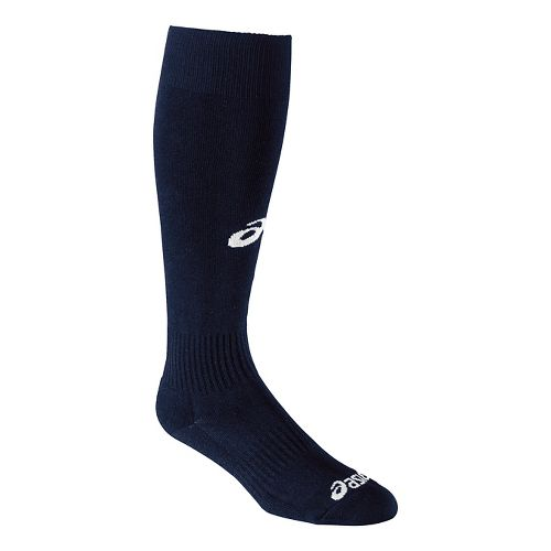 ASICS All Sport Field Knee High 3 Pack Socks - Navy L