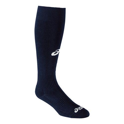 ASICS All Sport Field Knee High 3 Pack Socks - Navy S