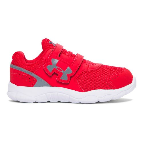 Under Armour INF Engage BL 3 AC  Running Shoe - Red 7C