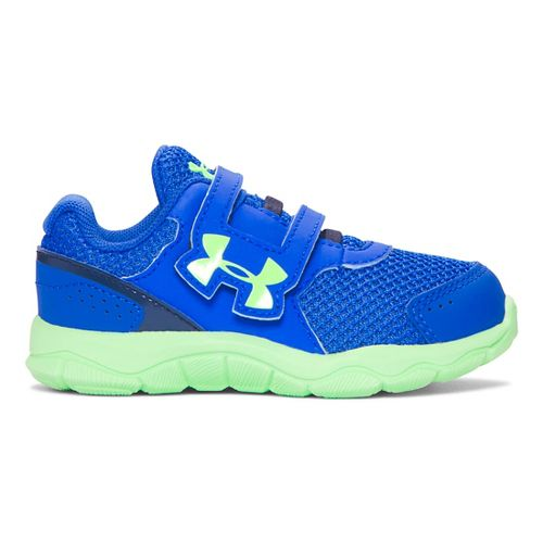 Under Armour INF Engage BL 3 AC  Running Shoe - Ultra Blue/Lime 6C