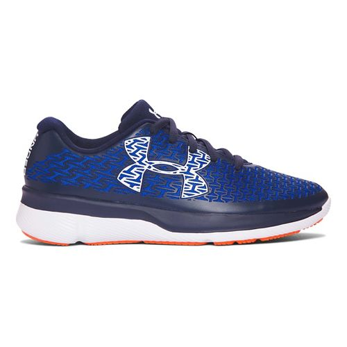Kids Under Armour ClutchFit RebelSpeed Running Shoe - Ultra Blue/White 6Y