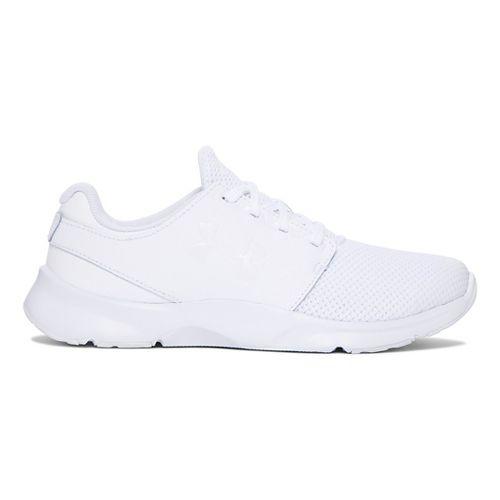 Kids Under Armour Drift RN Mono Running Shoe - White 6.5Y