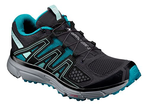 Salomon Womens X-Mission 3 CS Running Shoe - Magnet/Blue/Quarry 9