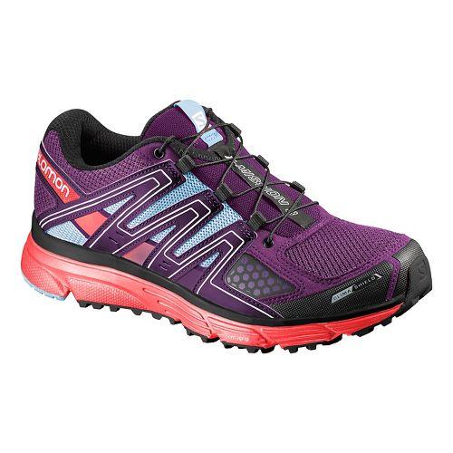Salomon Womens X Mission 3 CS Running Shoe - Passion Purple 7.5