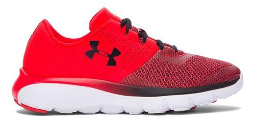 Kids Under Armour Fortis 2 TCK Running Shoe - Anthem Red/Black 5Y