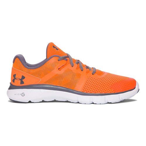 Kids Under Armour Micro G Shift RN Running Shoe - Orange/Graphite 7Y