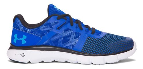 Under Armour Micro G Shift RN  Running Shoe - Ultra Blue/Blue 7Y