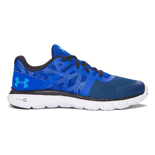 Kids Under Armour Micro G Shift RN Running Shoe - Ultra Blue/Blue 7Y
