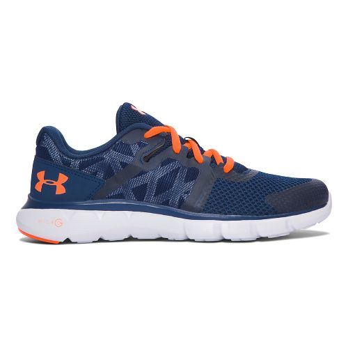 Under Armour Micro G Shift RN  Running Shoe - Blackout Navy 4Y