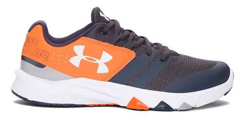 Under Armour Primed  Running Shoe - Stealth Grey/Orange 3.5Y