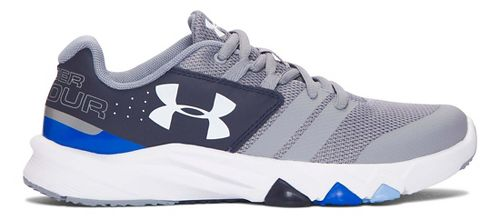 Under Armour Primed  Running Shoe - Steel/Midnight Navy 3.5Y
