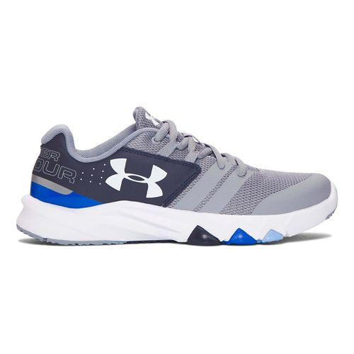 Under Armour Primed  Running Shoe - Steel/Midnight Navy 4Y
