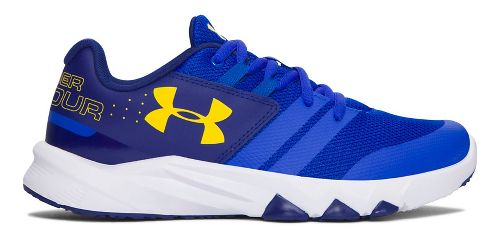 Under Armour Primed  Running Shoe - Team Royal/Yellow 7Y