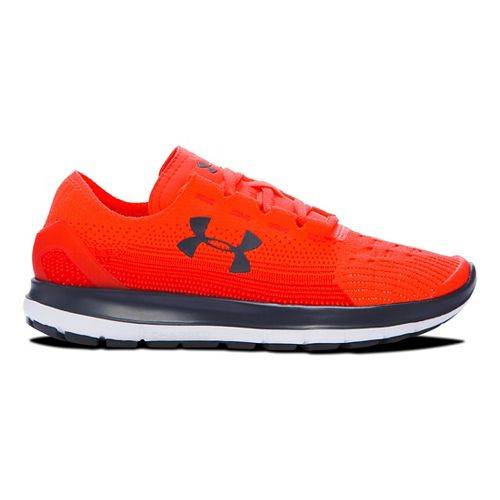 Kids Under Armour Speedform Slingride Fade Running Shoe - Bolt Orange 6Y