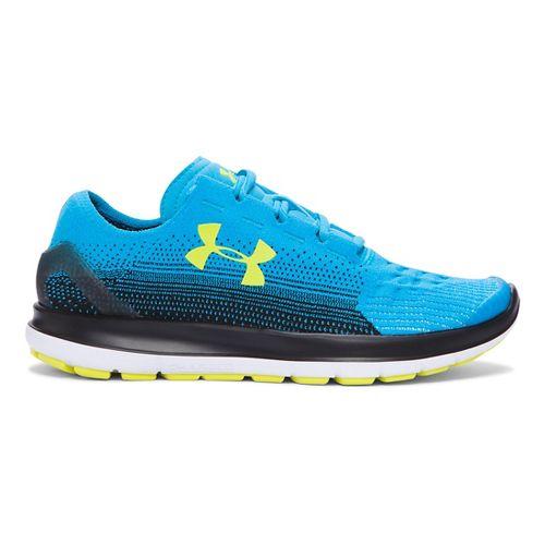 Kids Under Armour Speedform Slingride Fade Running Shoe - Meridian Blue 7Y