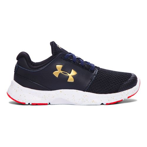 Kids Under Armour Drift RN Running Shoe - Black/White 1Y
