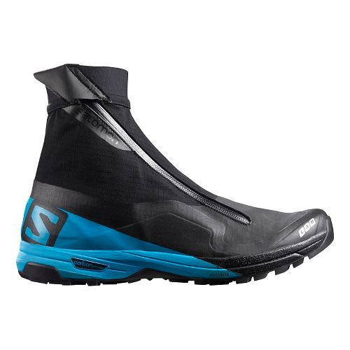 Salomon S-Lab XA Alpine Trail Running Shoe - Black/Blue 5