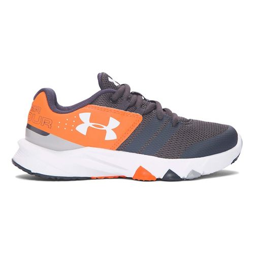 Under Armour Primed  Running Shoe - Graphite/Red 13C