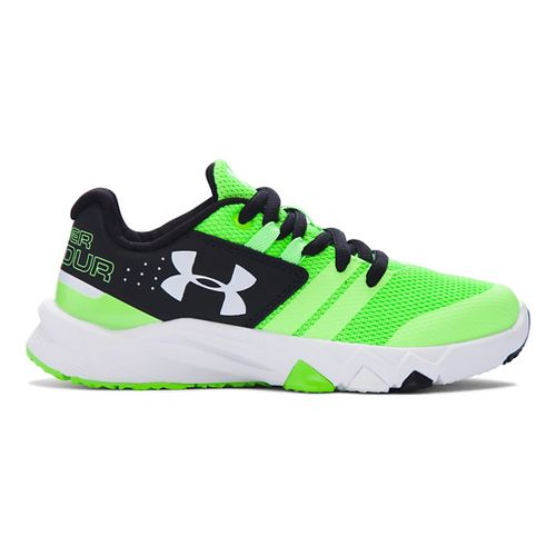 Under Armour Primed  Running Shoe - Lime/Black 2.5Y