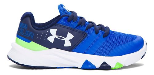 Under Armour Primed  Running Shoe - Graphite/Red 3Y