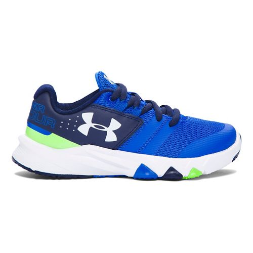 Kids Under Armour Primed Running Shoe - Ultra Blue/Navy 2Y