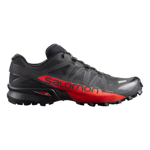 Salomon S-Lab Speedcross Trail Running Shoe - Red/White/Black 4.5