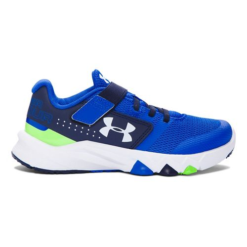 Kids Under Armour Primed AC Running Shoe - Ultra Blue/Navy 2Y