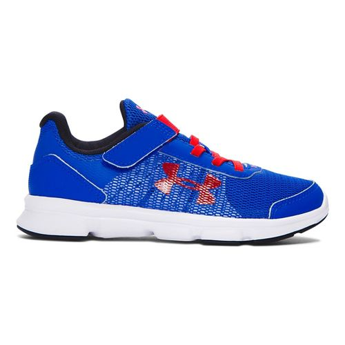 Kids Under Armour Speed Swift AC Running Shoe - Ultra Blue/Red 2Y