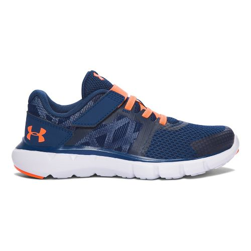Under Armour Shift RN AC  Running Shoe - Blackout Navy/White 1.5Y