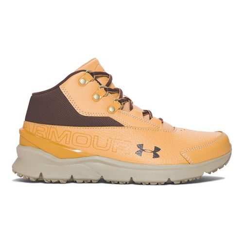 Kids Under Armour Overdrive Mid 2 TL Running Shoe - Vegas Gold/Dune 3.5Y