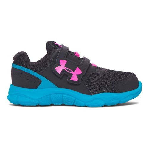 Under Armour Engage BL 3 AC Running Shoe - Black/Teal 7C