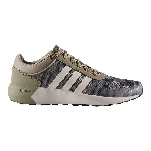 Mens adidas Cloudfoam Race Casual Shoe - Trace Cargo 10